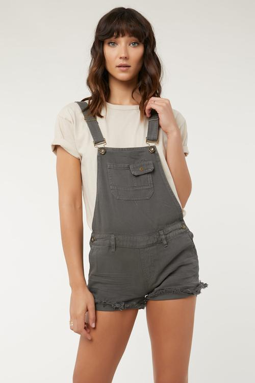 O'Neill Mathilda Ruby Wash Overall Shorts