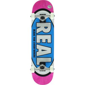"Real Team Oval 7.75"" Pink/Blue Complete"