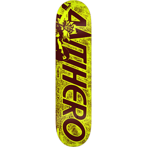 "Anti Hero Highlander Yellow 7.75"" Deck"