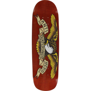 "Anti Hero Brown Bomber Shaped Eagle 8.86"" Deck"