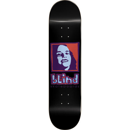 "Blind Skateboards Girl 8.25"" Deck (Black)"