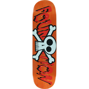 "Foundation Crossbones 8"" Deck"