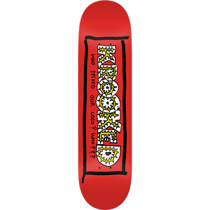 "Krooked Team Spiked 8.06"" Deck + FREE GRIP"
