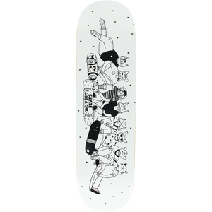 "Meow X Skate Like a Girl 8.25"" Deck + FREE GRIP"