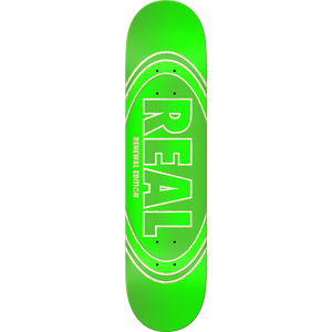 "Real Crossfade Renewal 8.06"" Green Deck"