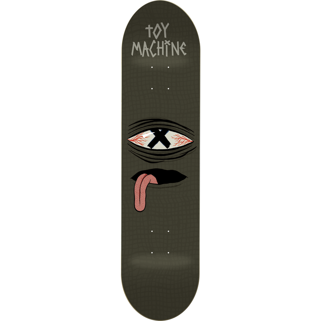 "Toy Machine Crossed Out 8.0"" Deck"