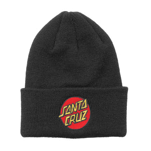 Santa Cruz Kids Classic Dot Long Shoreman Beanie