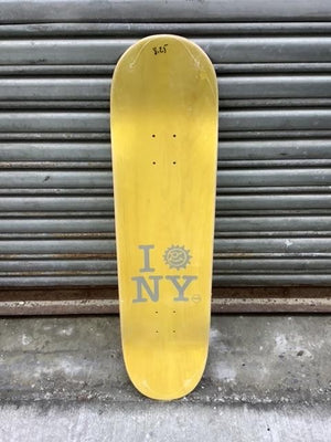 "Nimbus Sun Team Shape Purple 8.25"" Deck"