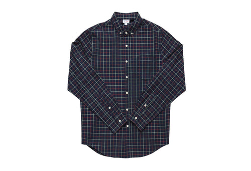 Catch Surf Clay L/S Woven Shirt (Blue/Multi Plaid)