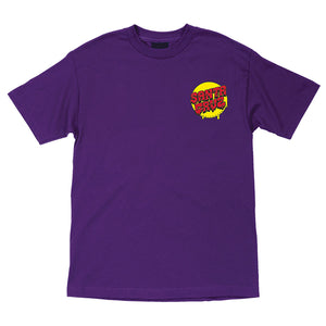 Santa Cruz Screaming Hand Purple S/S Youth Tee