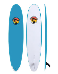 9' Three Palms Board Co (Summer Special: Comes with fins and a leash)