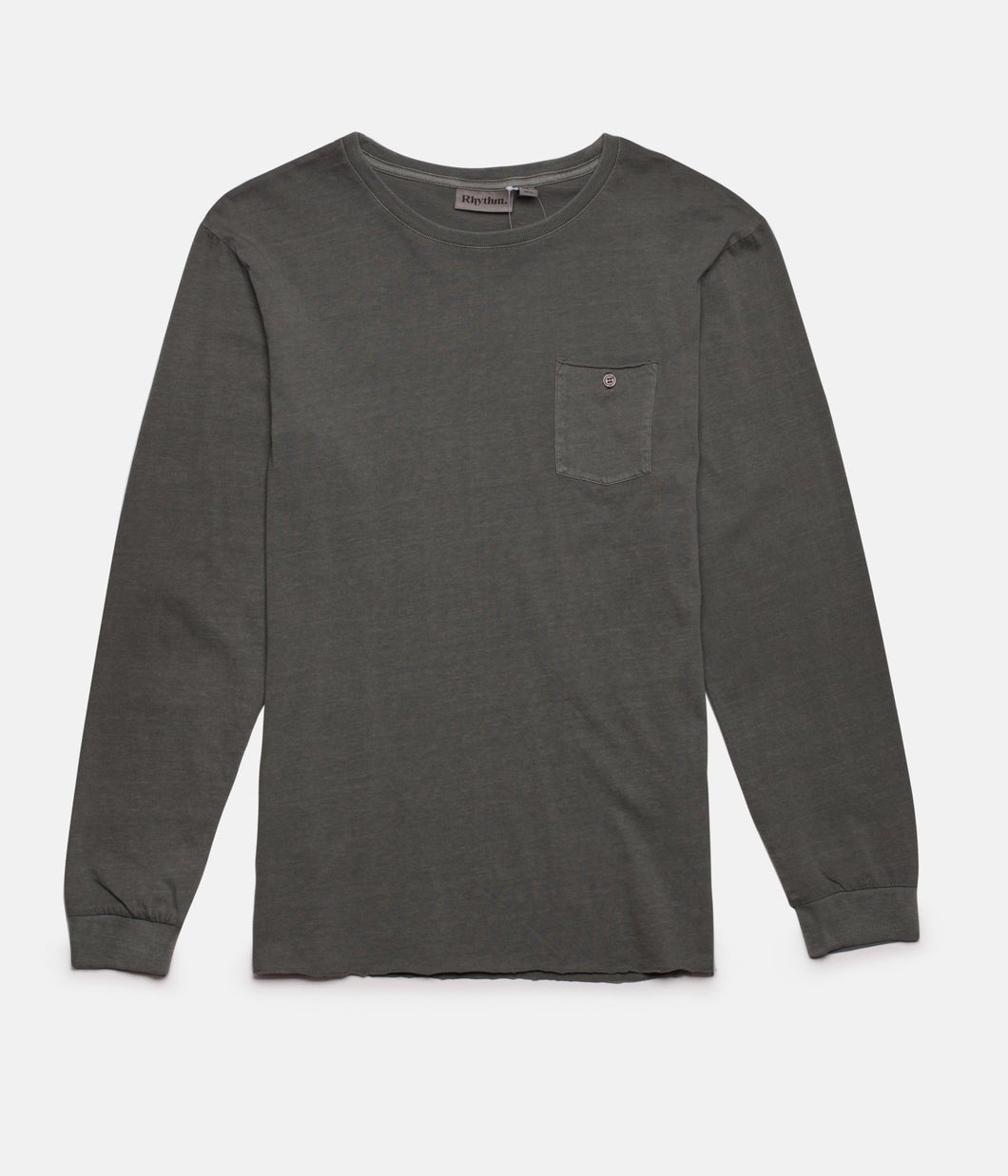 Rhythm Everyday Wash L/S T-Shirt (Midnight Navy)