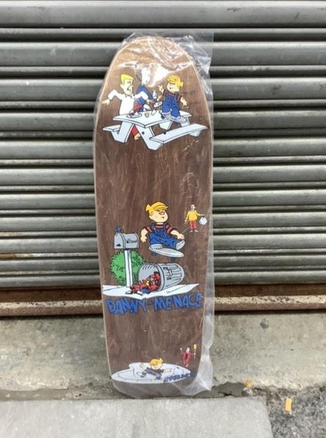 "Plan B Danny Way Danny the Menace 9.25"" Deck"
