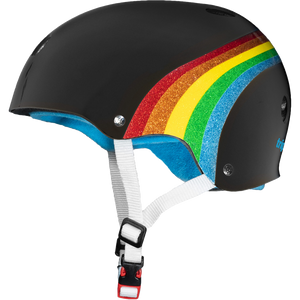 Triple Eight Sweatsaver Black Rainbow Helmet