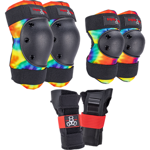 Triple 8 Saver Series Protective Pack Tie Dye