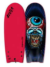 "54"" Odysea x LOST Original Eyeball Twin Fin Beater"