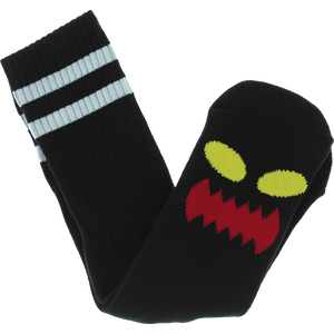 Toy Machine Monster Big Face Black Crew Socks