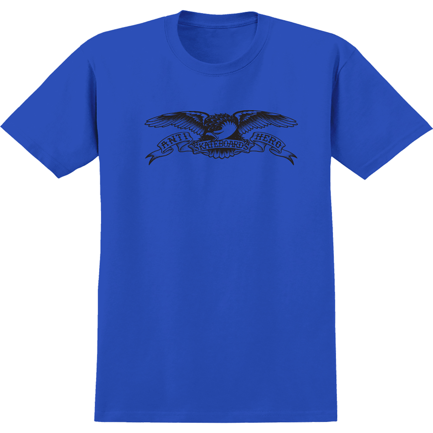 Anti Hero Basic Eagle S/S Royal Blue Youth Tee
