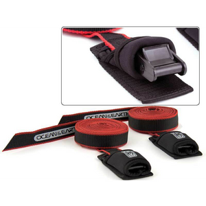 Ocean and Earth Standard Tie Down Straps Black