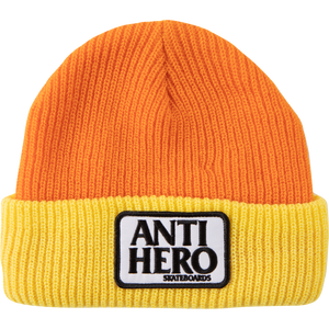 Anti Hero Reserve Patch Yellow / Orange Beanie