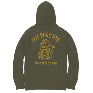 5Boro Don't Tread Olive Pullover Hoodie