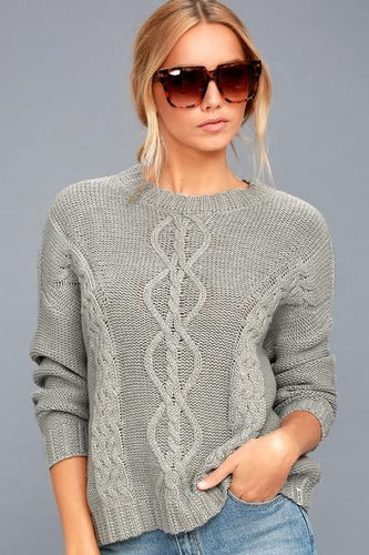 Rhythm Zambia Knit - Gray