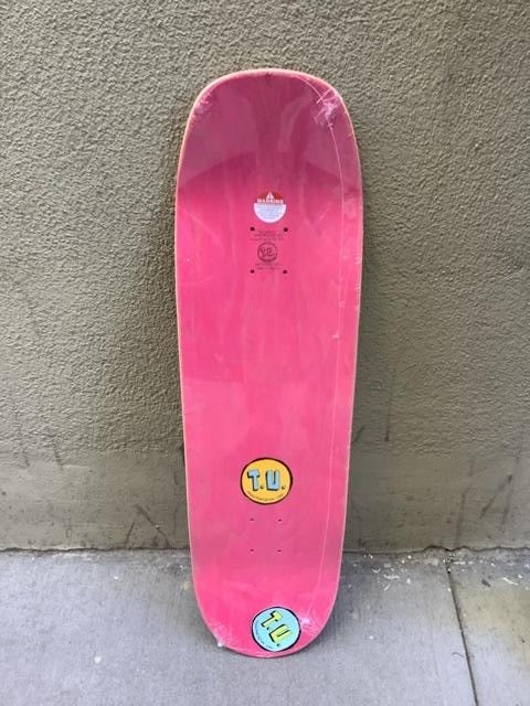 "Transportation Unit Ohhh Pelicaaan Red Stain 9.15"" Deck"