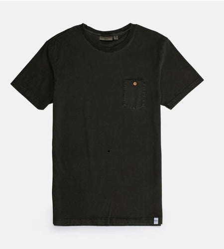 Rhythm Everyday Wash T-Shirt Olive