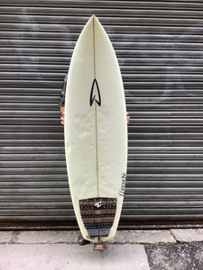 "5'8"" Robert's White Diamond 2"