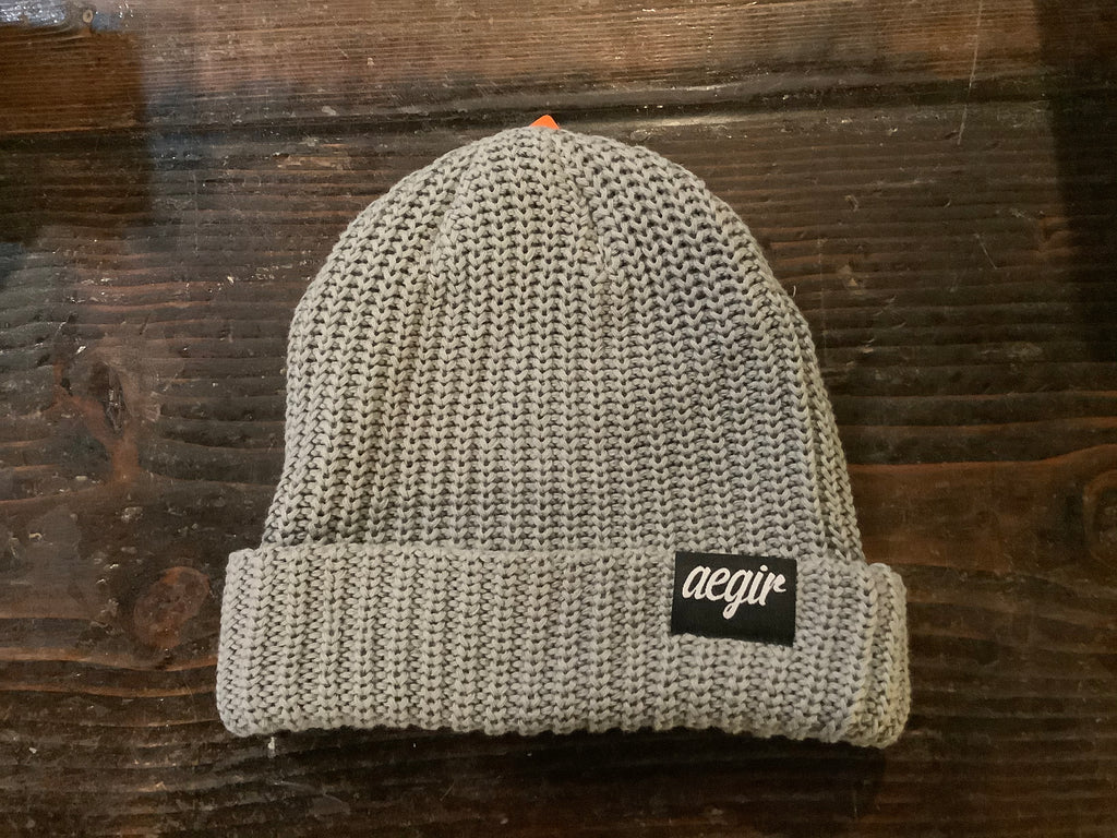 Aegir Steel Cuffed Casual Knit Beanie