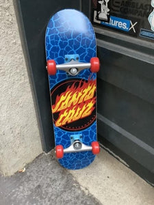"Santa Cruz Flame Dot 7.5"" Complete"