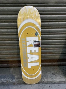 "Real Oval Pearl Patterns 8.06"" Deck"