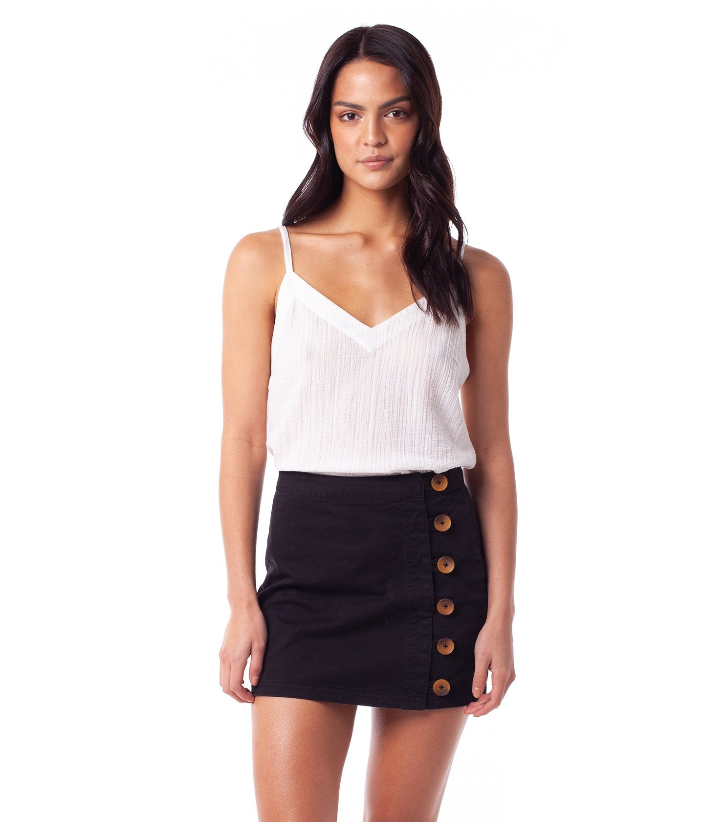 Rhythm Brooklyn Skirt Black