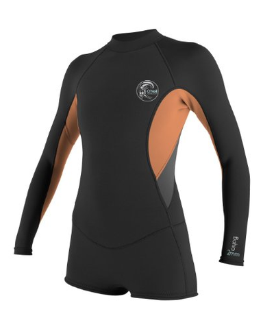 Oneill Womens Bahia 2mm Long Sleeve Spring Wetsuit