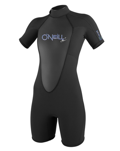 Oneill Womens Bahia Short Sleeve Spring Wetsuit