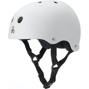 Triple Eight Sweatsaver White Helmet