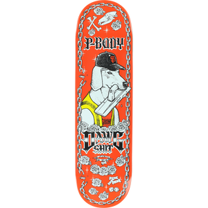 "Anti Hero Peabody Dawg Shit II 8.5"" Deck + FREE GRIP"