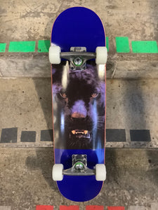 "Mini Logo Animal Eyes Panther Navy 7.5"" Complete Skateboard"