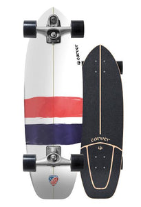 "Carver 32.25"" USA Thruster Surfskate Complete"