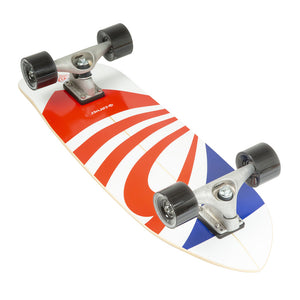 "Carver 30.75"" USA Booster Surfskate Complete"