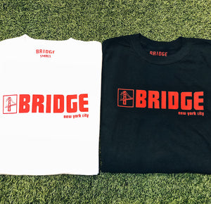 Bridge S/S T-Shirt (Red Logo)