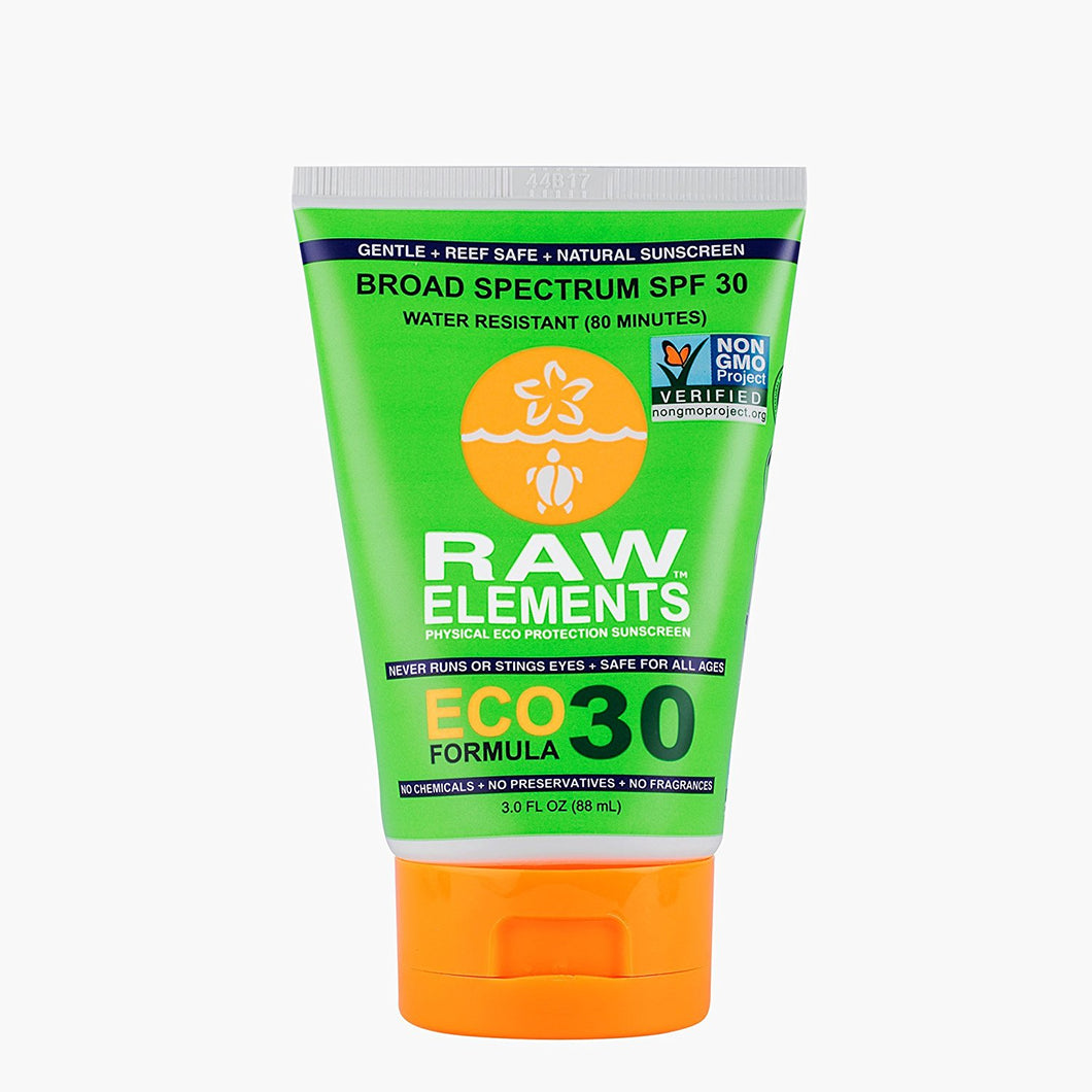 Raw Elements Eco Formula 30 Sunscreen