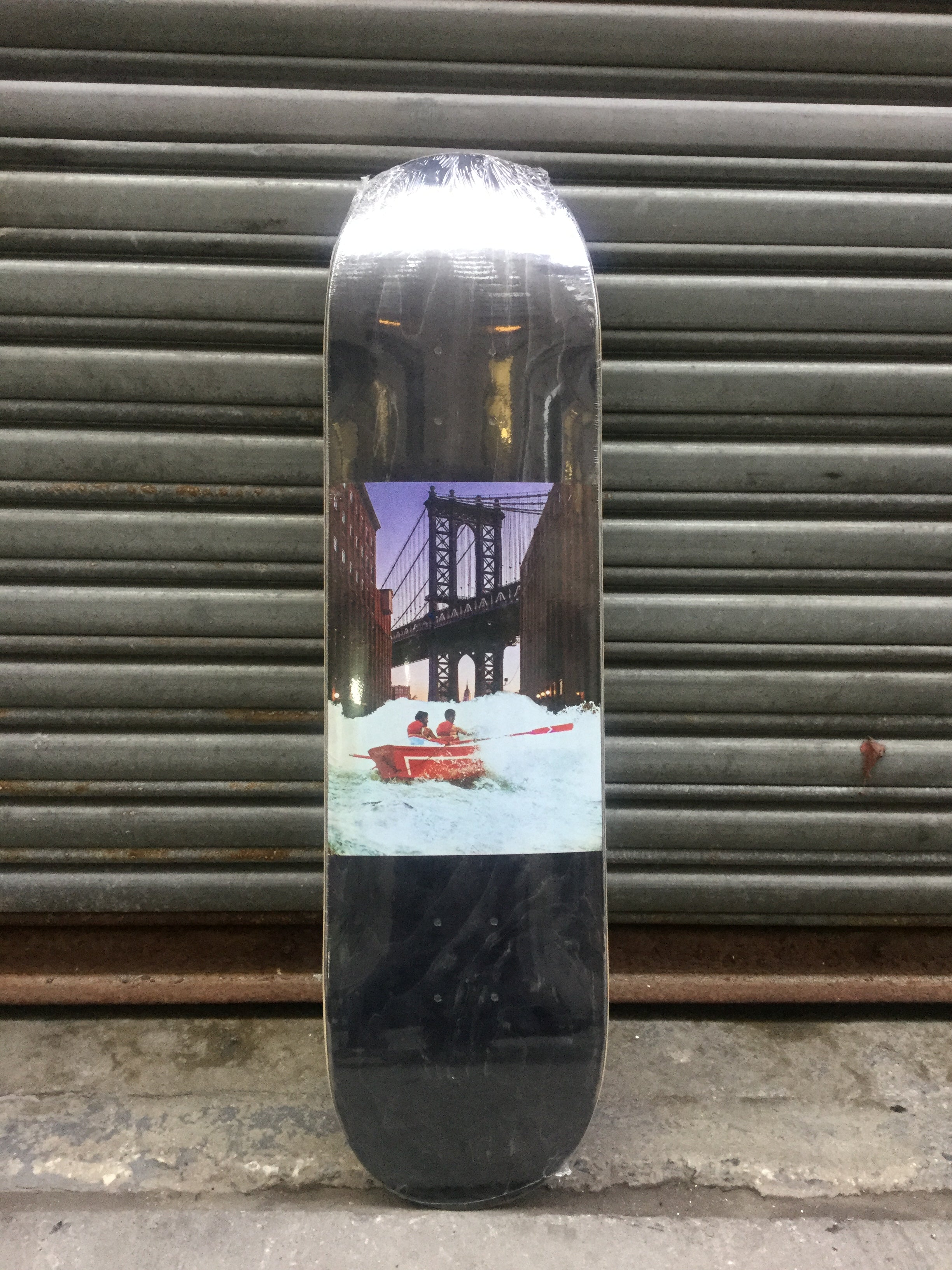 "Bridge Skateboards Rapids 8.75"" Charcoal Stain Deck"