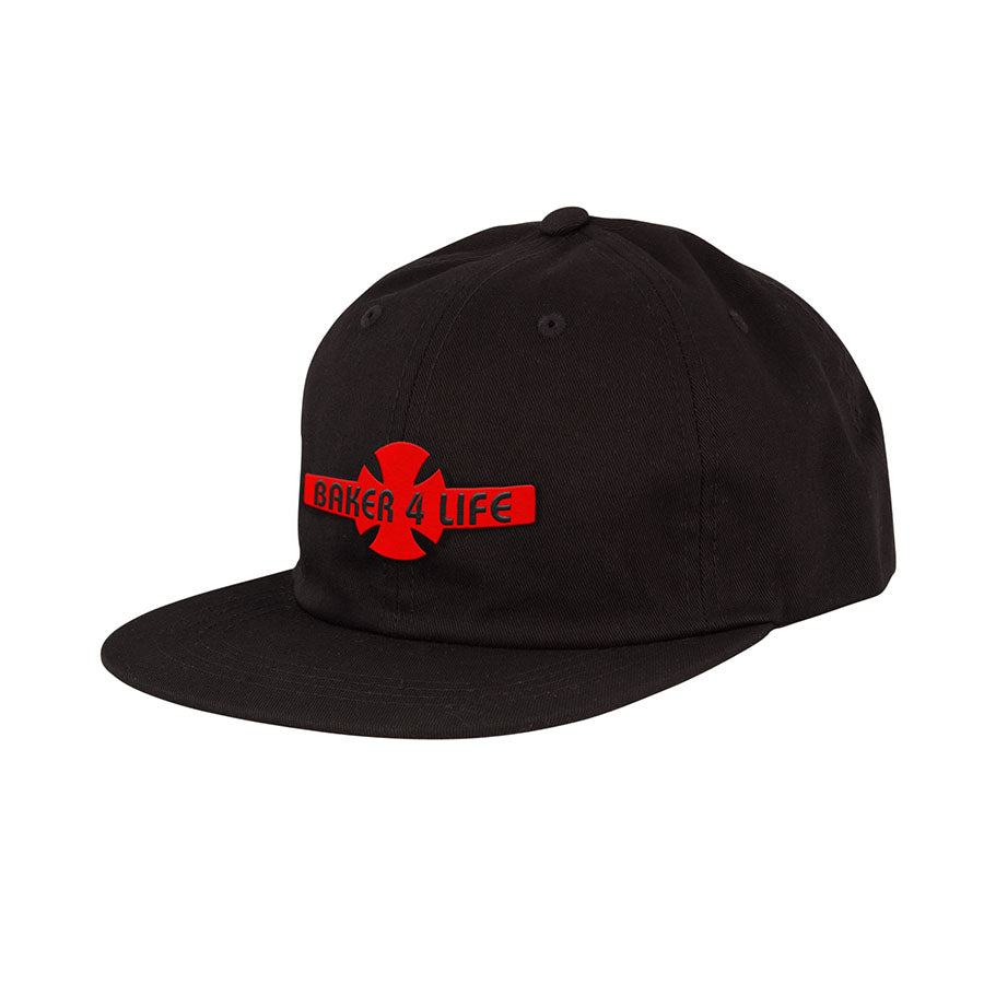 Baker 4 Life Strapback Unstructured Low Hat Black