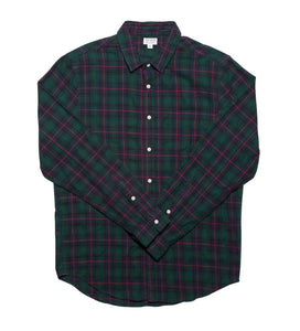 Catch Surf Browning L/S Flannel Green