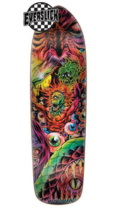 "Creature Hellucinations II Everslick Creature Skateboard 8.5"" Deck + FREE GRIP"