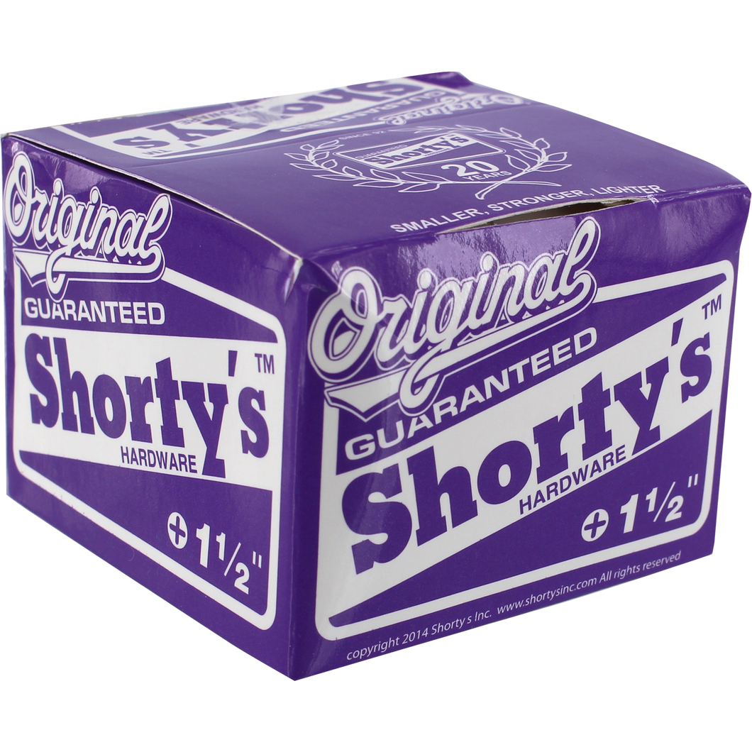 "Shorty's 1.5"" Skate Hardware"