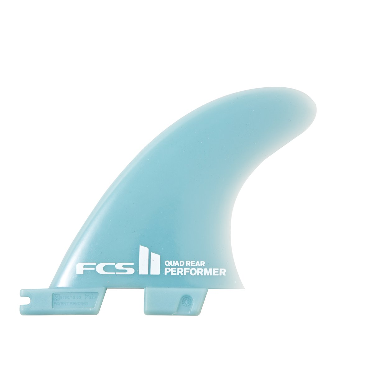 FCS II Performer GF Medium Quad Rear Fin Set