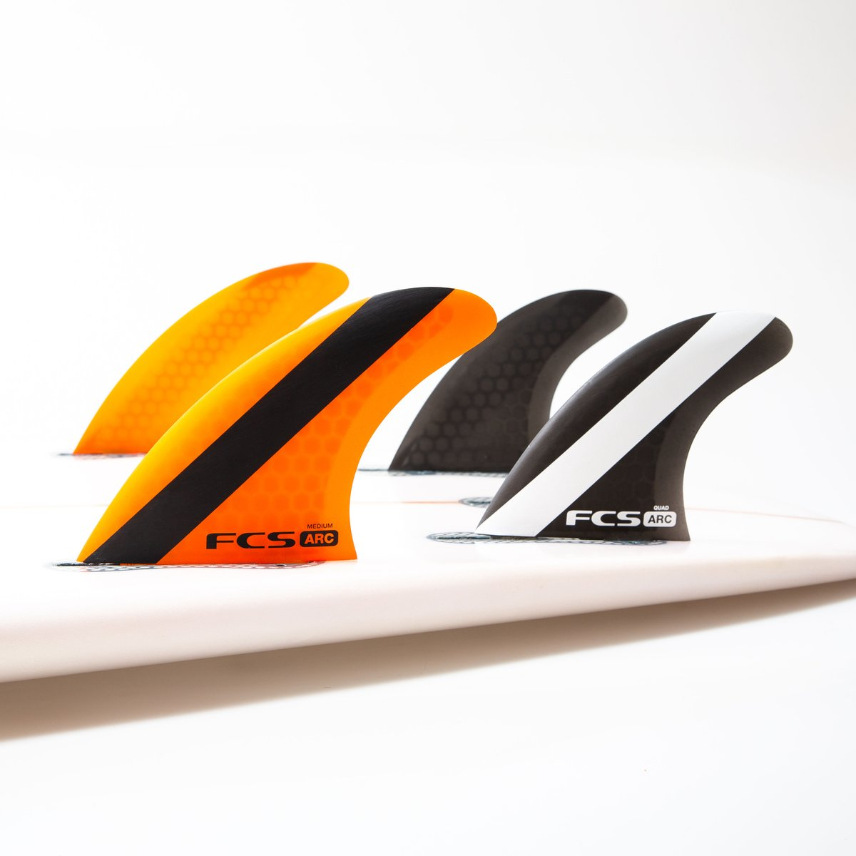 FCS I Arc Medium Tri-Quad Fin Set
