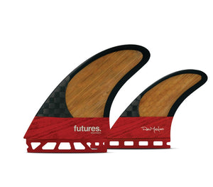 Futures Rob Machado Twin +1 Blackstix 3.0 Tri Set